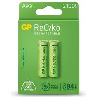 Аккумулятор AA ReCyko+ 2100mAh * 2 GP (210AAHCB-C2/210AAHCBLL-2EC2)
