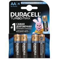 Батарейка AA TURBO MAX LR6 MN1500 * 4 Duracell (5000394069190 / 81546727)