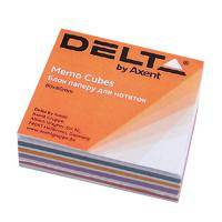 """""""Бумага для заметок Delta by Axent """"""""MIX"""""""" 80Х80Х20мм, unglued (D8011)"""""""