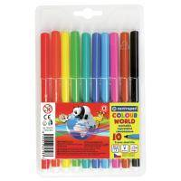Фломастеры Centropen 7550/10 COLOUR WORLD, 10 colors (7550/10 ТП)