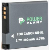 Аккумулятор к фото/видео PowerPlant Canon NB-8L (DV00DV1256)
