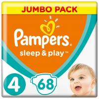 Подгузник Pampers Sleep & Play Maxi (7-14 кг), 68шт (4015400203551)