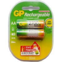 Аккумулятор AA R6 2700 mAh 2шт. GP (270AAHC-UC2/270AAHC-2UC2)