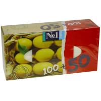 Носовые платки Bella универсальные Лимон 100+50 шт (5900516420352)