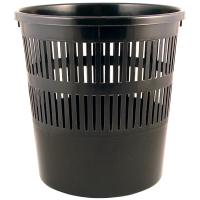 Корзина для бумаг Delta by Axent Plastic, black (D4007-01)