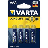 Батарейка AAA Varta Longlife Extra * 4 Varta (04103101414)