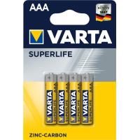 Батарейка Varta SUPERLIFE ZINC-CARBON * 4 (2003101414)