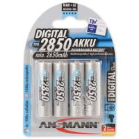Аккумулятор Ansmann AA R6 Digital 2850 mAh *4 (5035092)