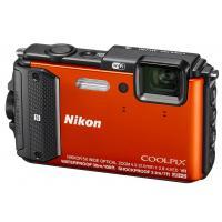 Цифровой фотоаппарат Nikon Coolpix AW130 Orange (VNA842E1)