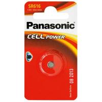 Батарейка PANASONIC SR616 * 1 Silver Oxide (SR-616EL/1B)