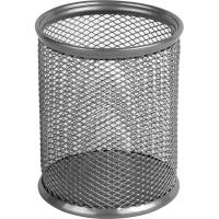 Подставка для ручек Axent square 80х80х100мм, wire mesh, silver (2111-03-A)