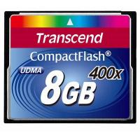 Карта памяти Transcend 8Gb Compact Flash 400x (TS8GCF400)