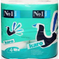 Туалетная бумага Bella Karo Белая 4 шт (5900516460464)