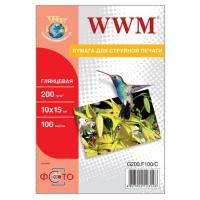 Бумага WWM 10x15 (G200.F100 / G200.F100/C)