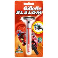 Бритва Gillette Slalom Red c 1 сменным картриджем (7702018321469)