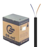 Кабель OK-Net UTP 305м 2 пары (КПП-ВП (100) 2х2х0,50)