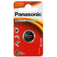 Батарейка PANASONIC CR 2032 Lithium * 1 (CR-2032EL/1B)