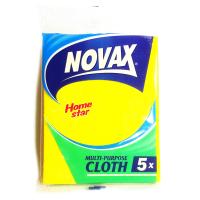 Салфетки для уборки Novax универсальные 5 шт (4823058308876)