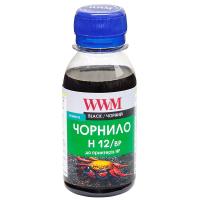 Чернила WWM HP №10/13/14/82 (Black Pigment) (H12/BP-2)