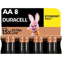 Батарейка Duracell AA MN1500 LR06 * 8 (5000394006522 / 81417083)