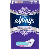 Ежедневные прокладки Always Platinum Collection Deo Normal 50 шт (4015400481164)