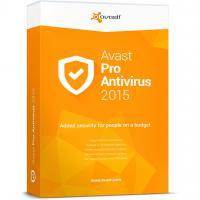Программная продукция Avast Pro Antivirus 2015 1 ПК 1 год Base Box (4820153970335)