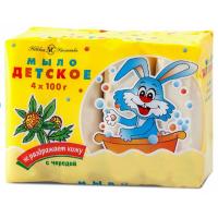 Мыло Невская косметика Детское с экстрактом череды 4x100 г (4600697101552)