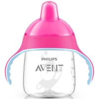 Поильник-непроливайка Philips AVENT 260 мл, 12 мес+ (SCF753/00_pink)