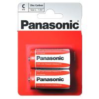 Батарейка PANASONIC C R14 RED ZINK * 2 (R14REL/2BPR)