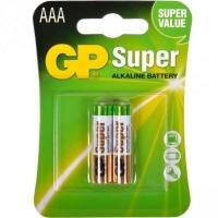 Батарейка AAA LR3 Super Alcaline * 2 GP (24A-U2)