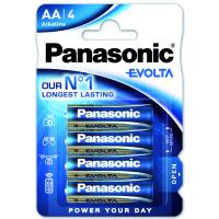 Батарейка PANASONIC LR06 PANASONIC Evolta * 4 (LR6EGE/4BP)