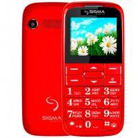 Мобильный телефон Sigma Comfort 50 Slim Red (4304210212151)