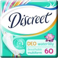 Ежедневные прокладки Discreet Deo Water Lily 60 шт (4015400108023)