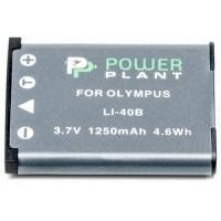 Аккумулятор к фото/видео Olympus Li-40B, Li-42B, D-Li63, D-Li108, NP-45, NP-80, NP-82 PowerPlant (DV00DV1090)