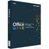 Программная продукция Microsoft Office Mac Home Business 2011 (W6F-00211)