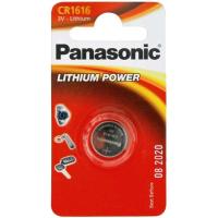 Батарейка PANASONIC CR 1616 * 1 LITHIUM (CR-1616EL/1B)