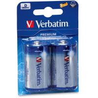 Батарейка Verbatim D alcaline * 2 (49923)