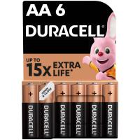 Батарейка Duracell AA MN1500 LR06 * 6 (5000394107458 / 81485016)