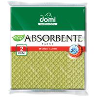 Салфетки для уборки DOMI влагопоглощающие 2 шт (1402 DI)