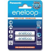Аккумулятор PANASONIC Eneloop AA 750mAh NI-MH * 2 (BK-4MCCE/2BE)