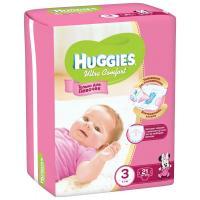 Подгузник Huggies Ultra Comfort для девочек 3 (5-9кг) 21 шт (5029053543543)