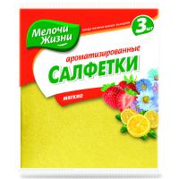 Салфетки для уборки Мелочи Жизни универсальные ароматизированные 3 шт (2089 CDMIX)