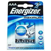 Батарейка Energizer AAA Махімum LR03 * 4 (7638900297577)