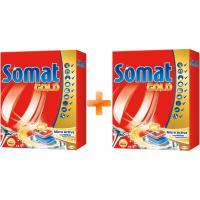 Таблетки для посудомоечных машин Somat Голд 44 шт + вторая упаковка в подарок (9000100999212)