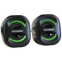 Акустическая система Greenwave SA-225, black-green (R0013761)