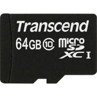 Карта памяти Transcend 64GB microSDXC Class 10 (TS64GUSDXC10)