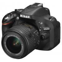 Цифровой фотоаппарат Nikon D5200 + 18-55 II (VBA350KV02)