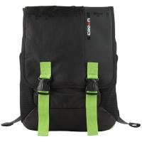 Рюкзак для ноутбука Crown 15.6 Harmony black and green (BPH3315BG)