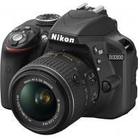 Цифровой фотоаппарат Nikon D3300 + AF-P 18-55VR KIT (VBA390K008)