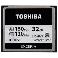 Карта памяти TOSHIBA 32GB Compact Flash 1000X (CF-032GTGI(8)